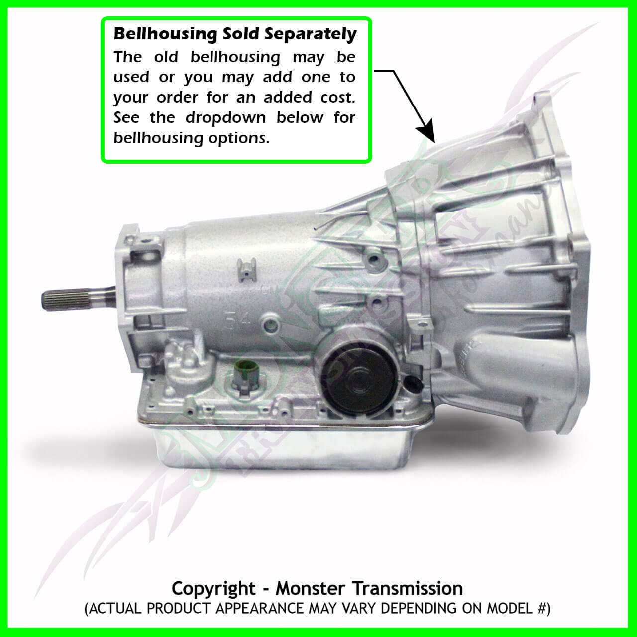 Ls1 Engine Transmission Package: 4L70E Transmission Remanufactured 4X4 Heavy Duty 4.8 5.3