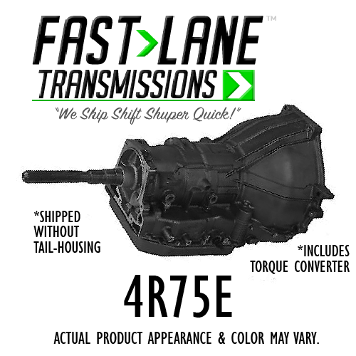 Fast Lane 4r75e Transmission With 4r75e Torque Converter