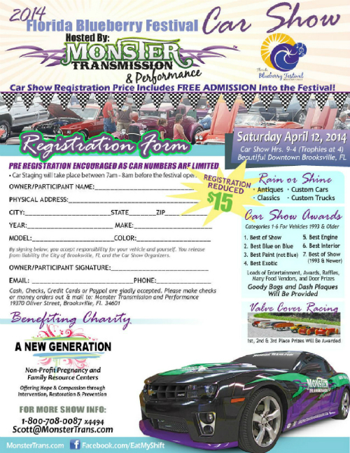 Monster Transmission Car Show