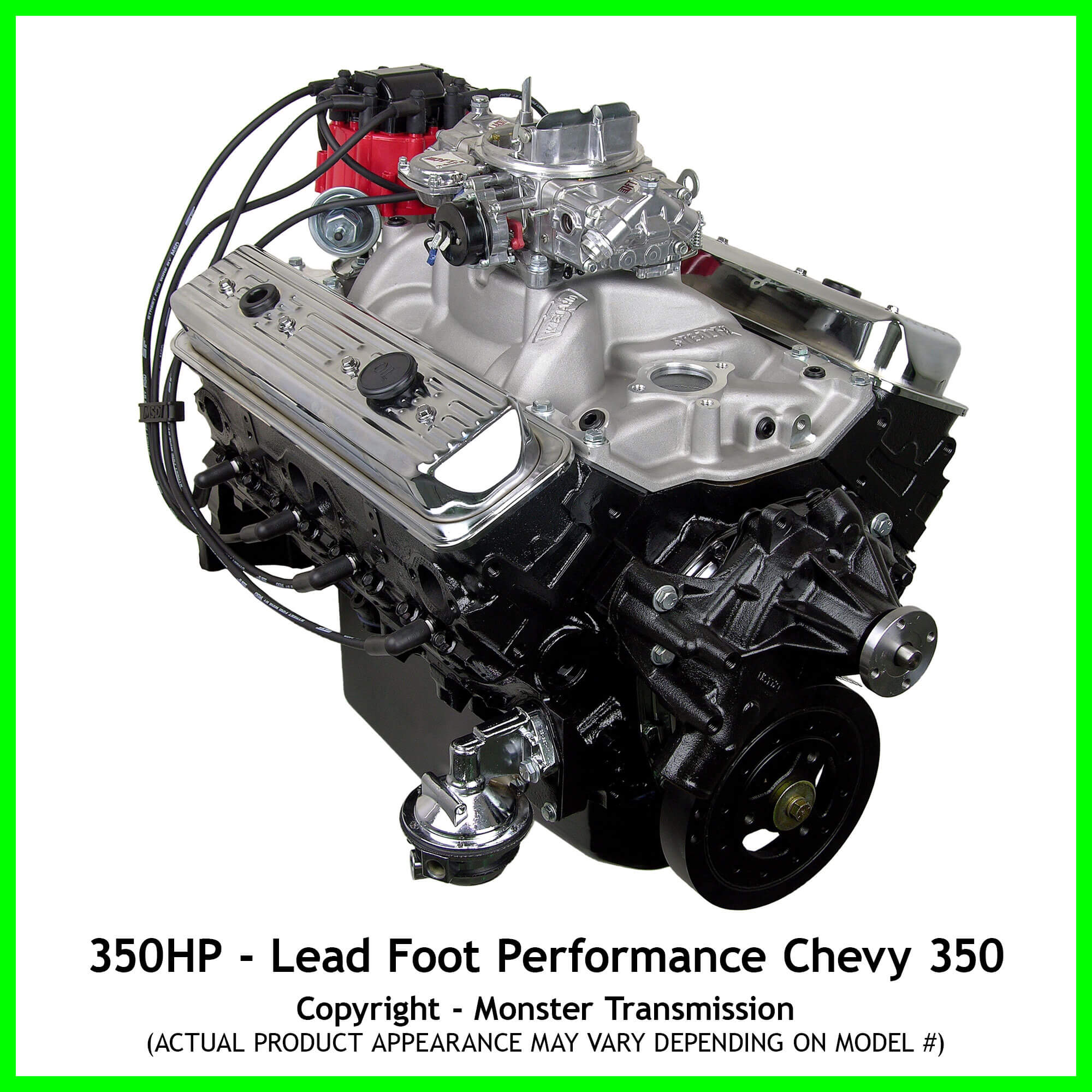lead foot performance new modified chevy 350 engine. Black Bedroom Furniture Sets. Home Design Ideas