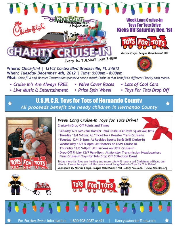 Toys For Tots Flyers : Toys for tots flyer