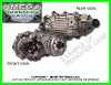 CHEVY/GM BW-1372/4472 BORG WARNER TRANSFER CASE, 1990-1995
