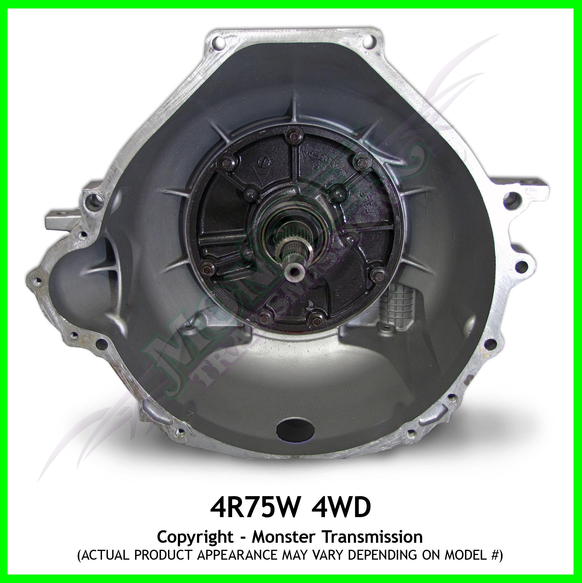 4r75e 4r75w Transmission High Performance 4wd Monster Transmission Ford 4r75w Transmission