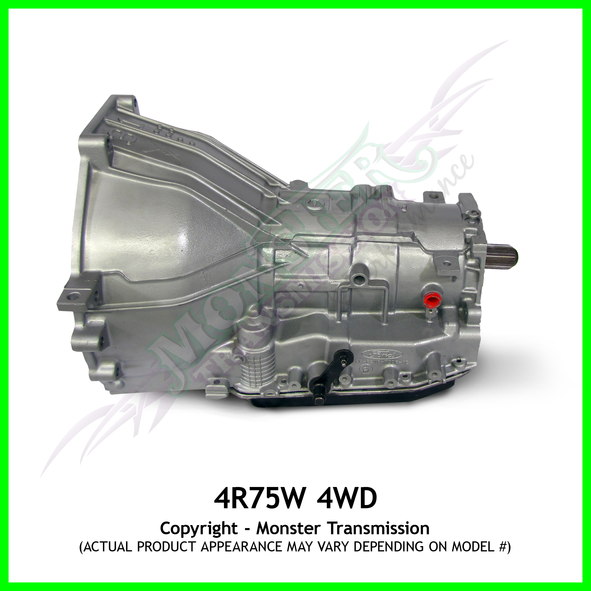 4R75E, 4R75W Transmission, High Performance 4WD, Monster ...