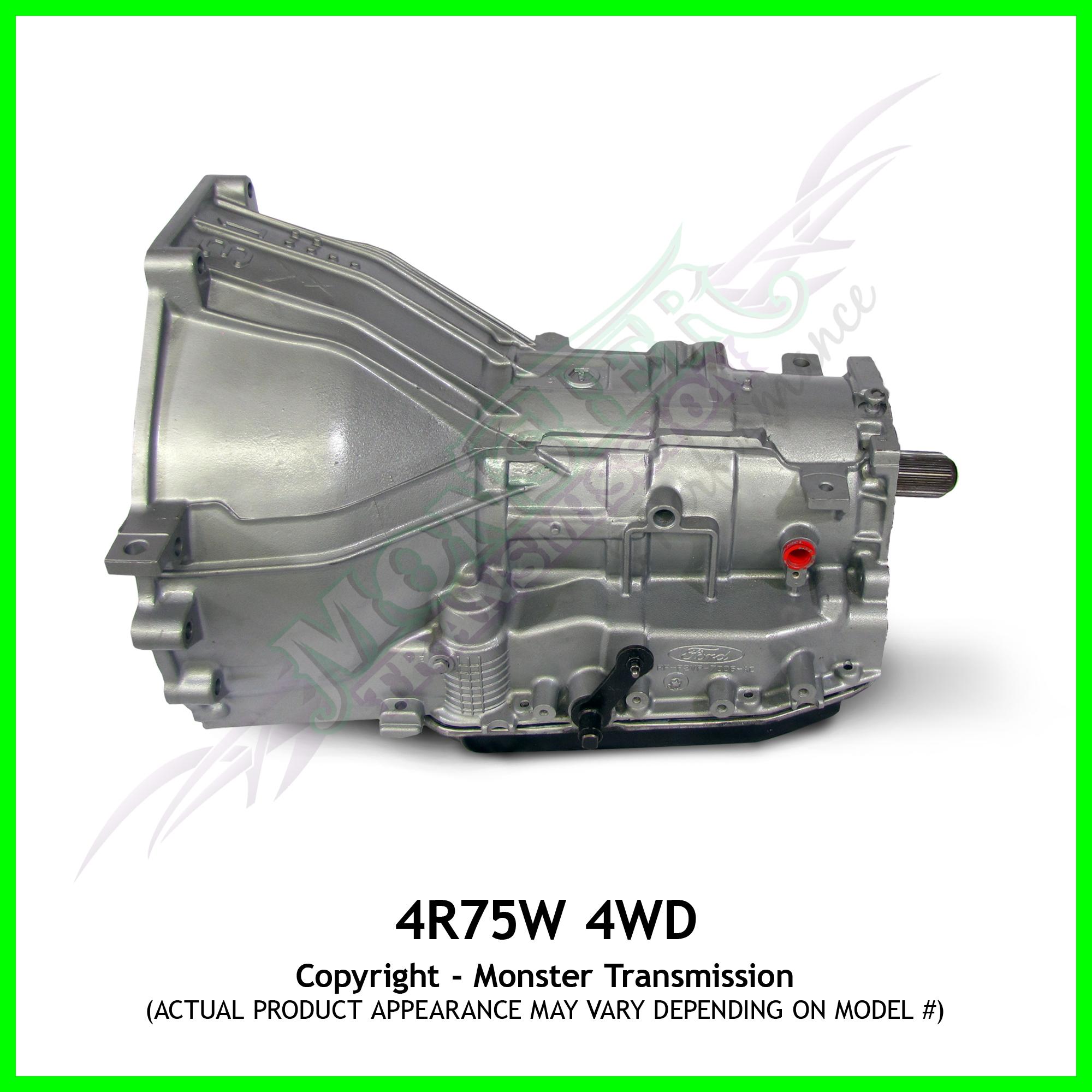 4R75E Transmission For Sale >> 4R75E, 4R75W Transmission, High Performance 4WD, Monster ...