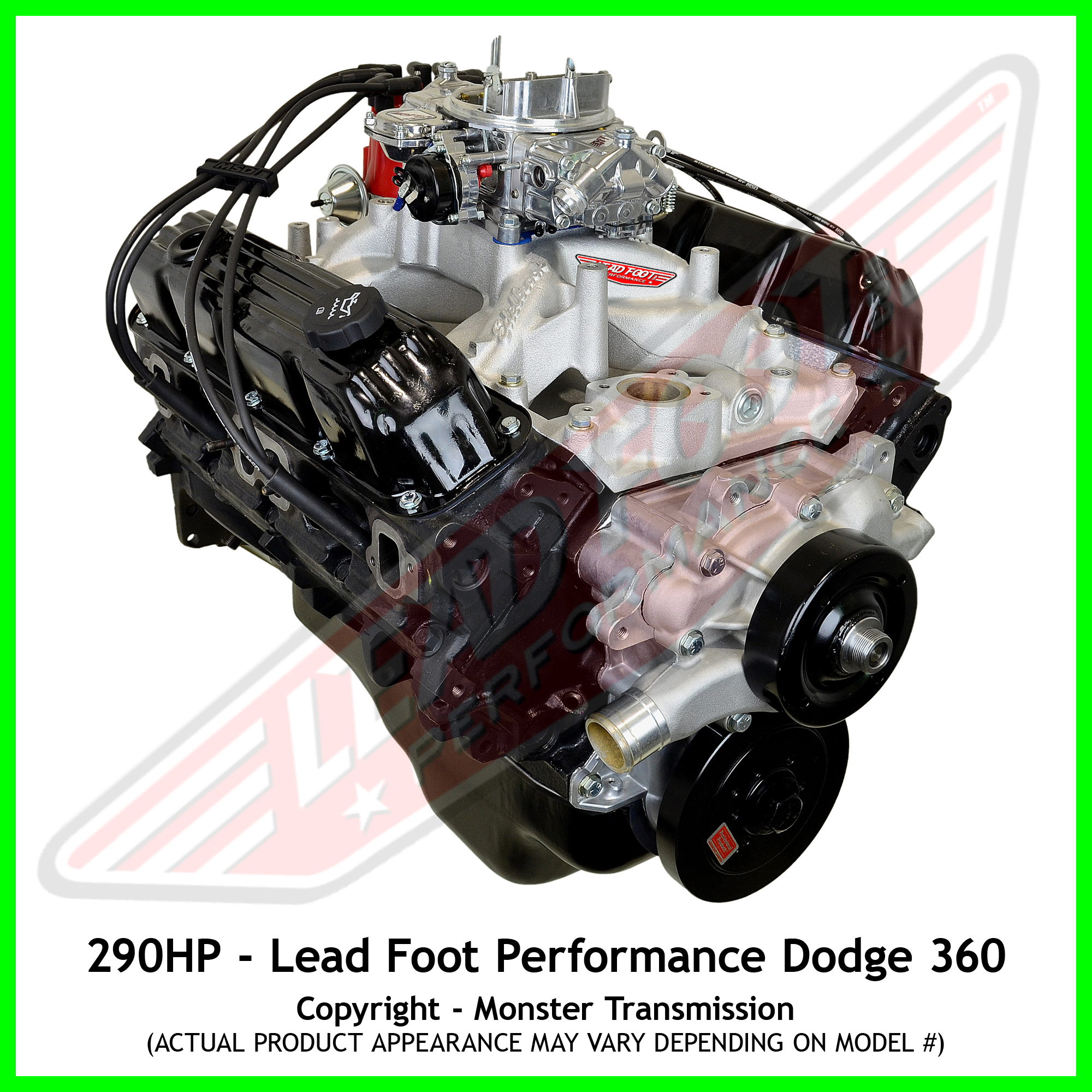 Lead Foot Performance New Modified Dodge 360 Engine