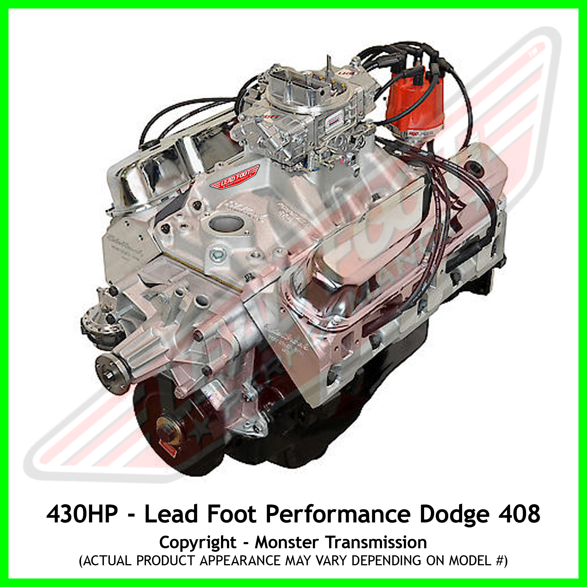 Dodge crate engines news of new car release lead foot performance new modified dodge 408 engine malvernweather Choice Image