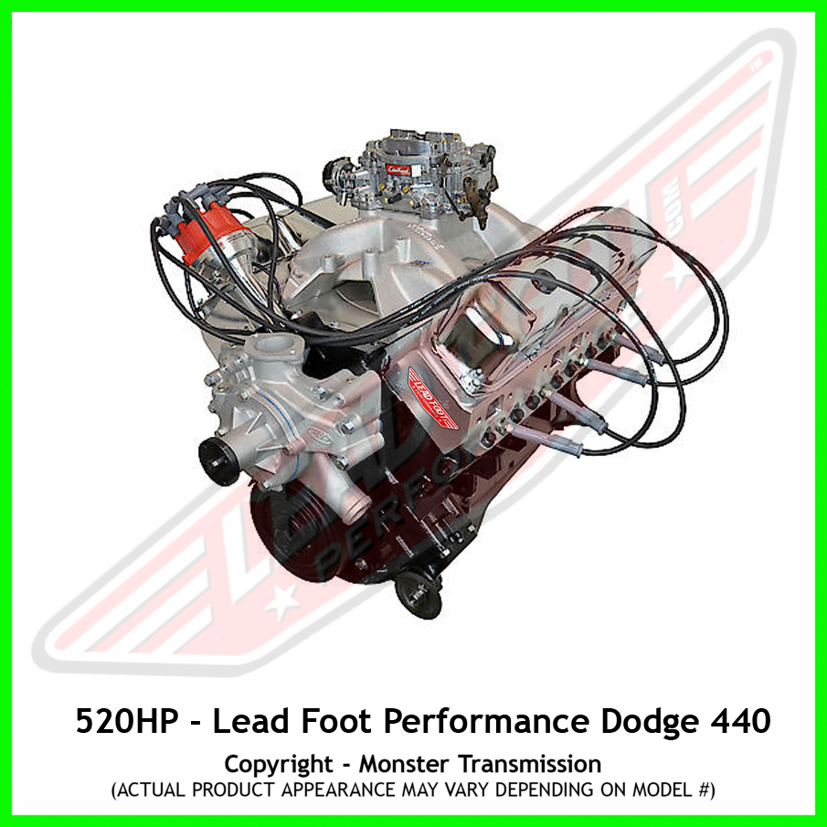 Chrysler Crate Motors For Sale: Lead Foot Performance, New Modified Dodge Big Block 440