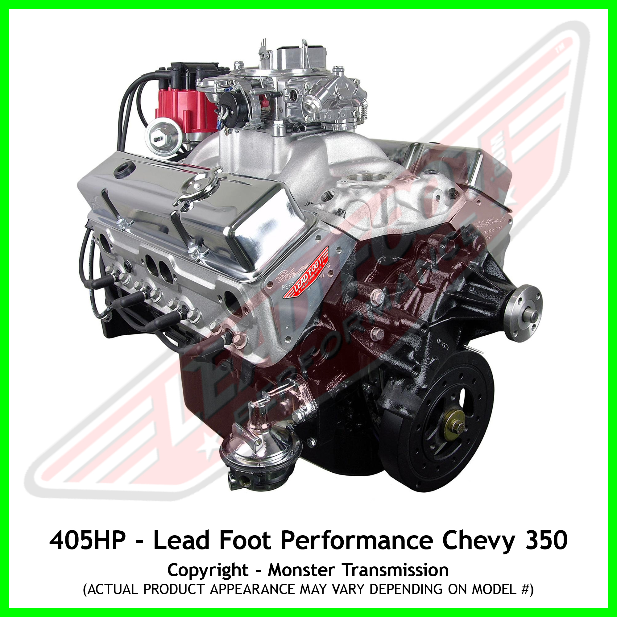 lead foot performance  new modified chevy 350 engine