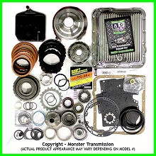 700R4 Rebuild Kit, SS Mega Monster-In-A-Box: 1982-84