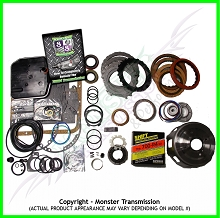 700R4 Rebuild Kit, Mega Monster-In-A-Box: 1987-93