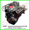 Lead Foot Performance - 302 Ford Crate Engine Complete - Rated at 300Hp / 335 Ft Lbs & FREE Shipping