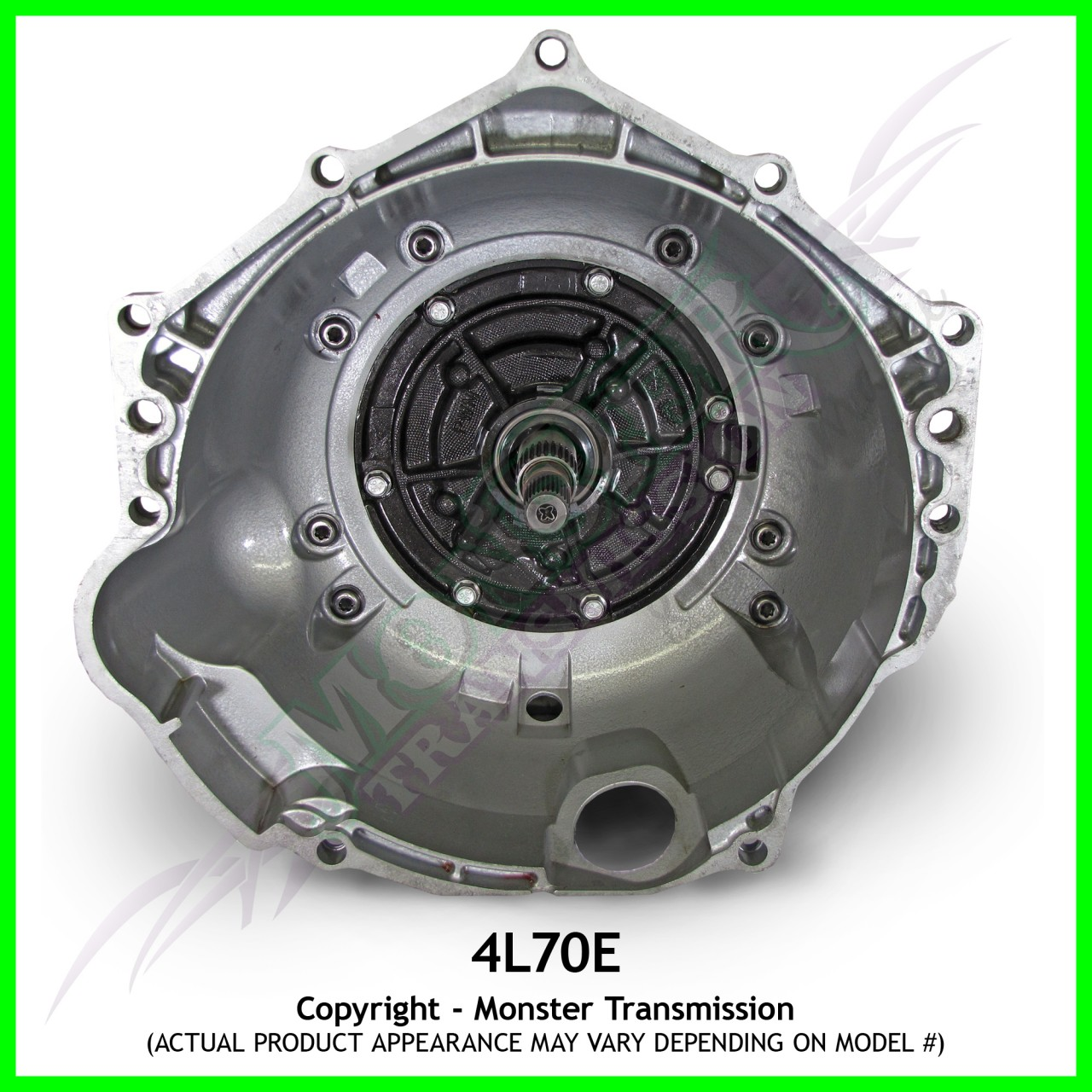 4L70E Transmission Remanufactured Heavy Duty 4.8 5.3 LS1 6