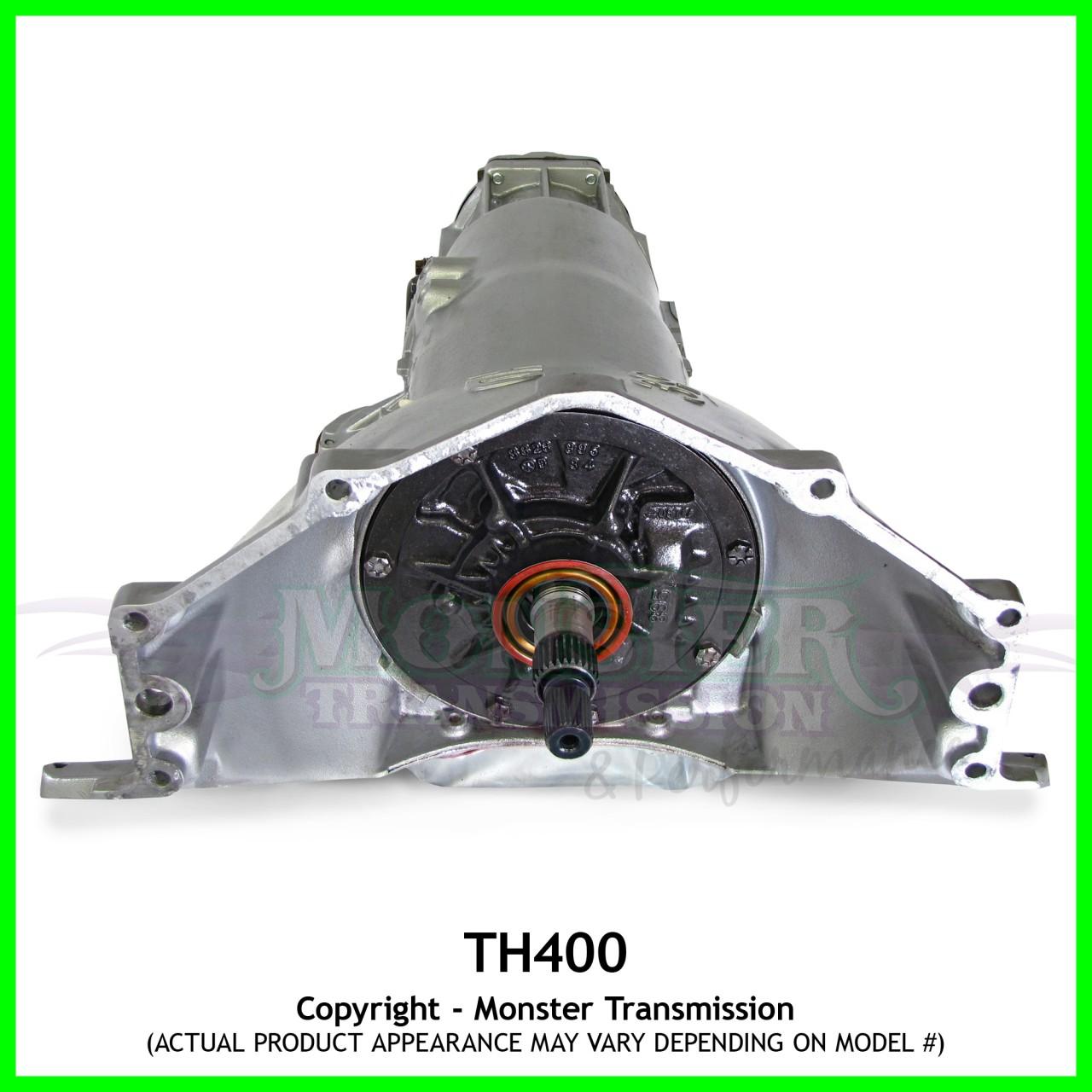 Turbo 400 TH400 Transmission Heavy Duty Performance 4\