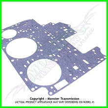AOD / AODE / 4R70 Gasket, Valve Body (Upper) (White Stripe) (80-93)
