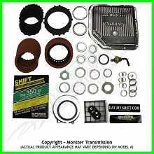 TH-350 SS Mega Monster Transmission Complete Rebuild Kit