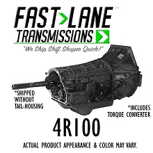Fast Lane 4R100 Diesel Transmission with Free Torque Converter