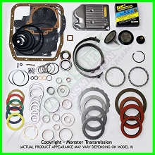 AOD Mega Monster Transmission Complete Rebuild Kit: 1983-89
