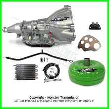 Ford 4R70W HD Transmission Master Conversion Package 2WD