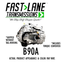 Fast Lane B90A Transmission with Free Torque Converter (08-11 Honda Accord 2.4L)