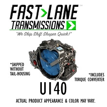 Fast Lane U140E Transmission with Free Torque Converter (02-04 Toyota Camry 3.0L)