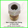 Ford Coolant Line Fitting (Rear)