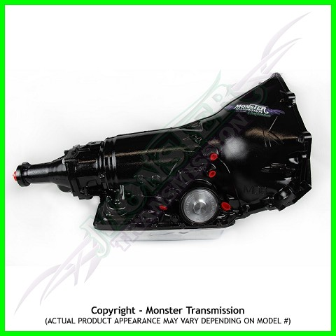 Custom Built Monster 700R4 SS Xtreme Performance Transmission 2WD Non-Lockup
