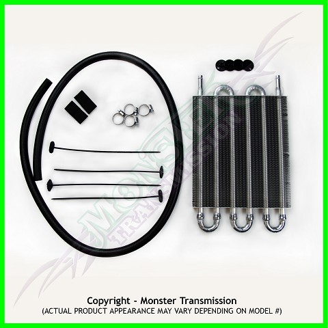 "Hayden Transmission Cooler kit: 12 1/2"" x 5"" x 3/4"""