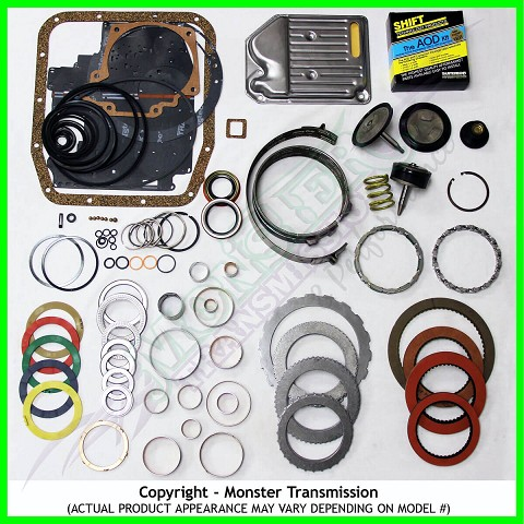 Aod Mega Monster Transmission Complete Rebuild Kit 1983 89