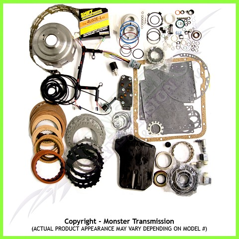 4L65E Transmission Rebuild Kit, Mega Monster-In-A-Box: 1998-02