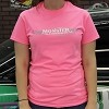Monster Transmission Ladies T Shirt - Hot Rod Pink