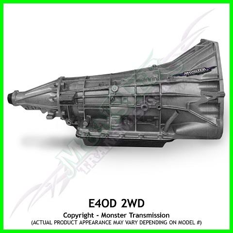 E4od Transmission Heavy Duty Gas 2wd E4od Transmission Rebuilt