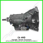 C6 Heavy Duty Performance Transmission 4WD : Small Block