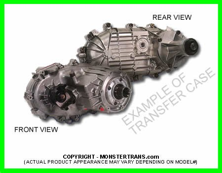 HUMMER NP-242 NEW PROCESS TRANSFER CASE