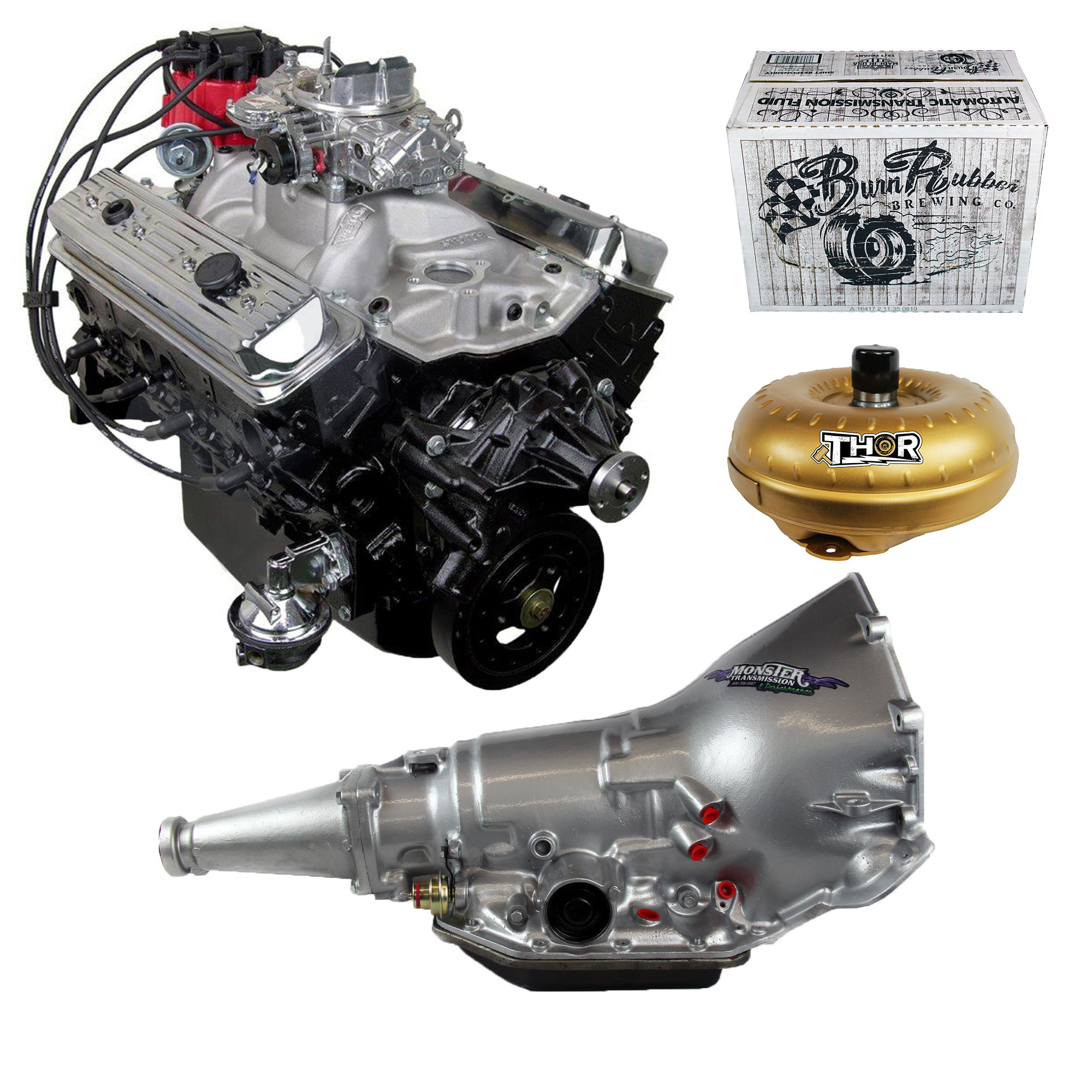Monster Powertrain Package - Chevy 383 Engine, Rated at 380hp / 460tq on