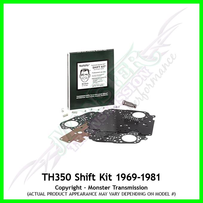 Transgo Shift Kit Th350 Transmission 1969 1981