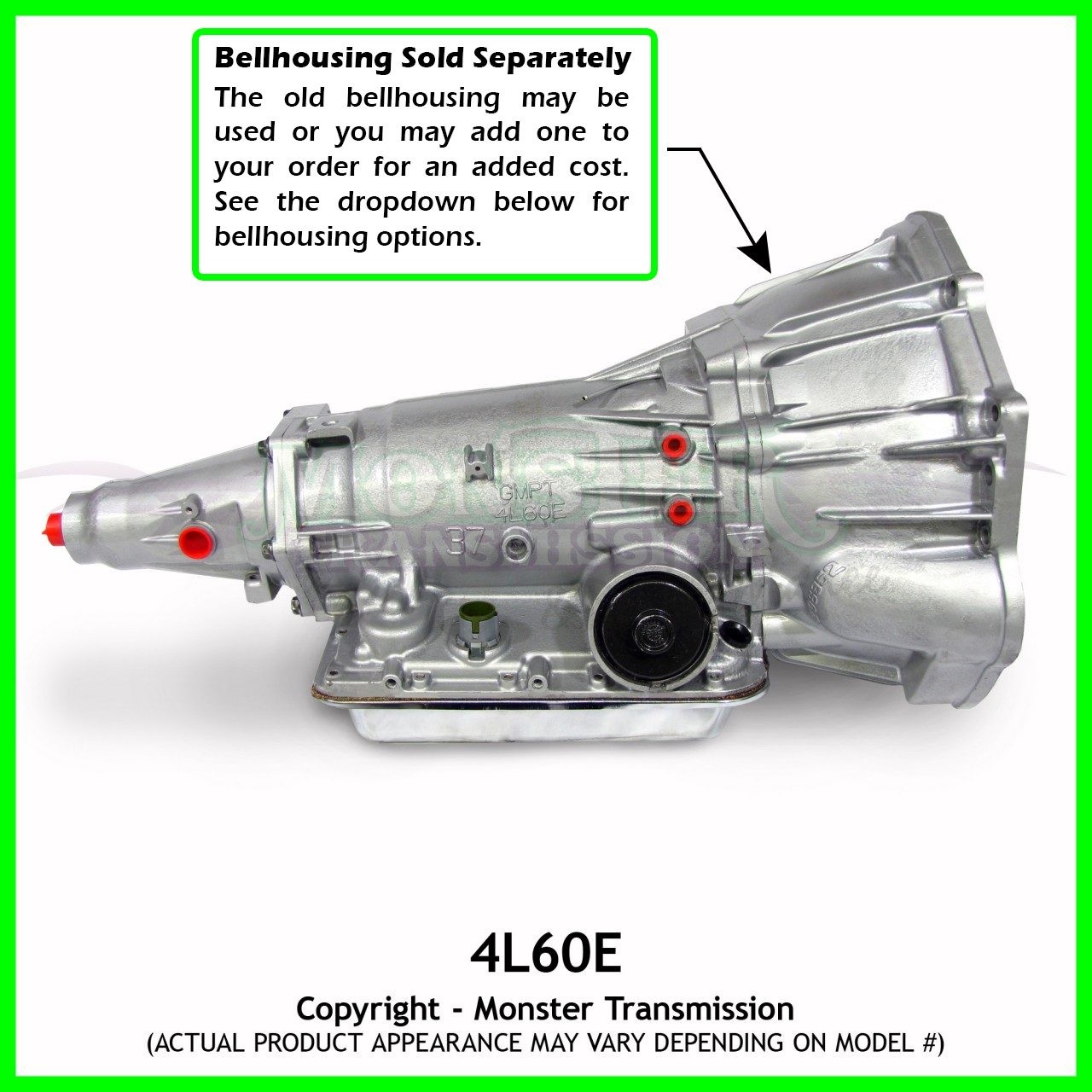 4l60e 4l65e transmission remanufactured heavy duty 4 8 5 3 1983 Chevy 350 Transmission Diagram turbo 350 transmission parts diagram