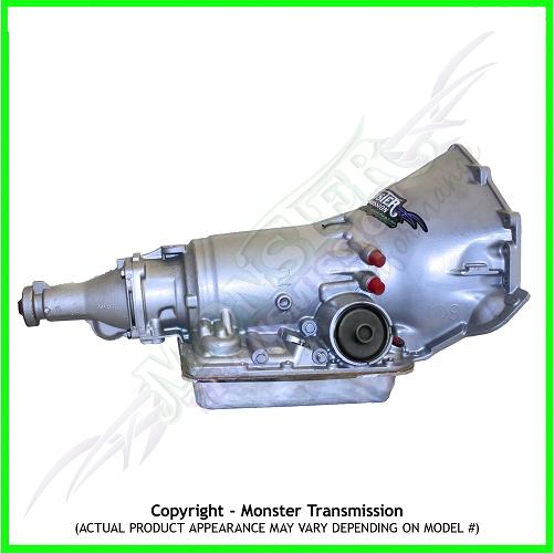 700R4 700r4 Transmission Monster Rebuilt Heavy Duty Performance 2WD