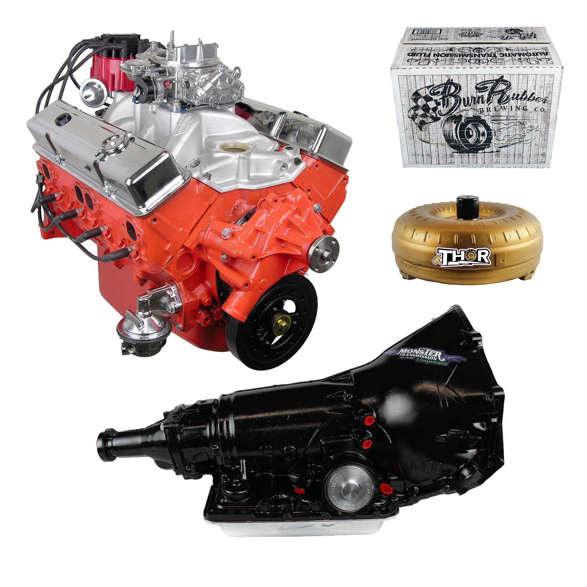 700r4 Transmission For Sale >> Monster Powertrain Package Chevy 350 Engine Rated At 325hp 375tq With 700r4 Transmission