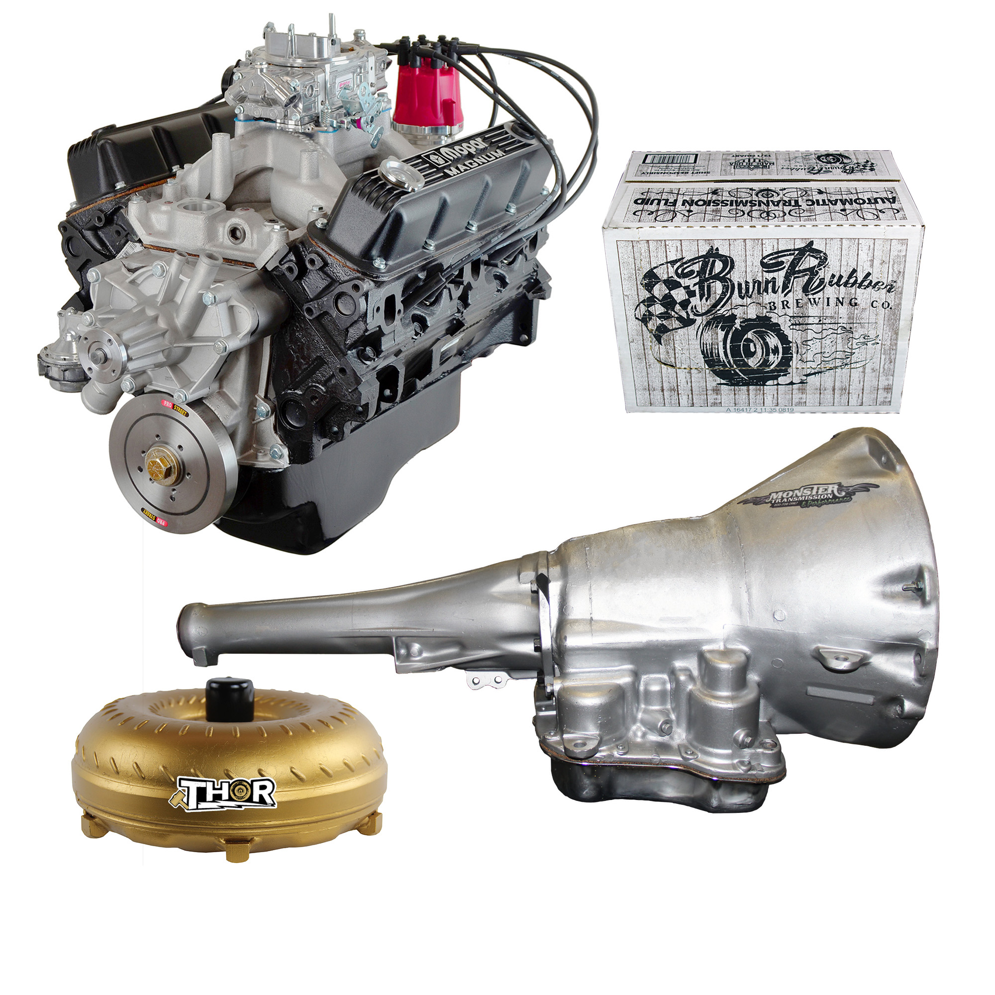 Engine And Transmission >> Monster Powertrain Package 360 Dodge 5 9l Engine Rated At 290hp 385tq With Tf8 727 Transmission