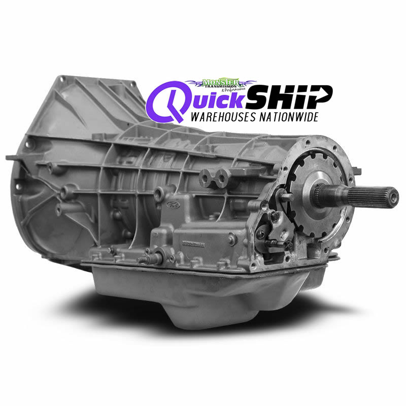 Quick Ship 4R100 Transmission With Free Torque Converter DIESEL