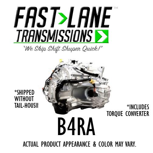 Fast Lane U241E Transmission with Free Torque Converter (02-04 Toyota Camry  2 4L)