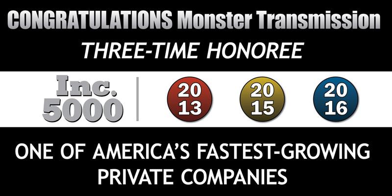 Inc. 5000 Three-Time Honoree