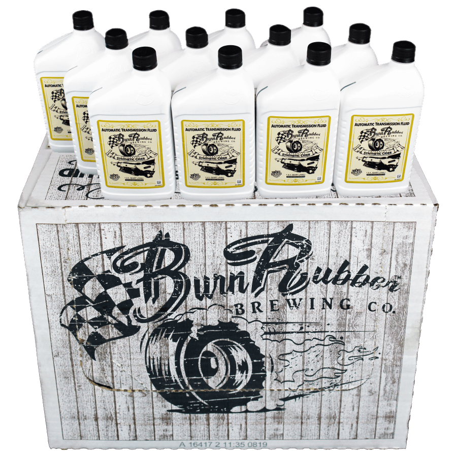 Burn Rubber® Brewing Universal Synthetic Cider, Auto Transmission Fluid, 1  Case (12 Quarts)