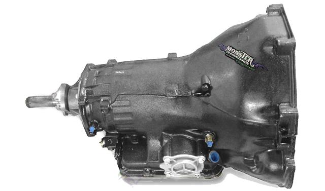 C6 Heavy Duty Performance Transmission 4WD : Small Block