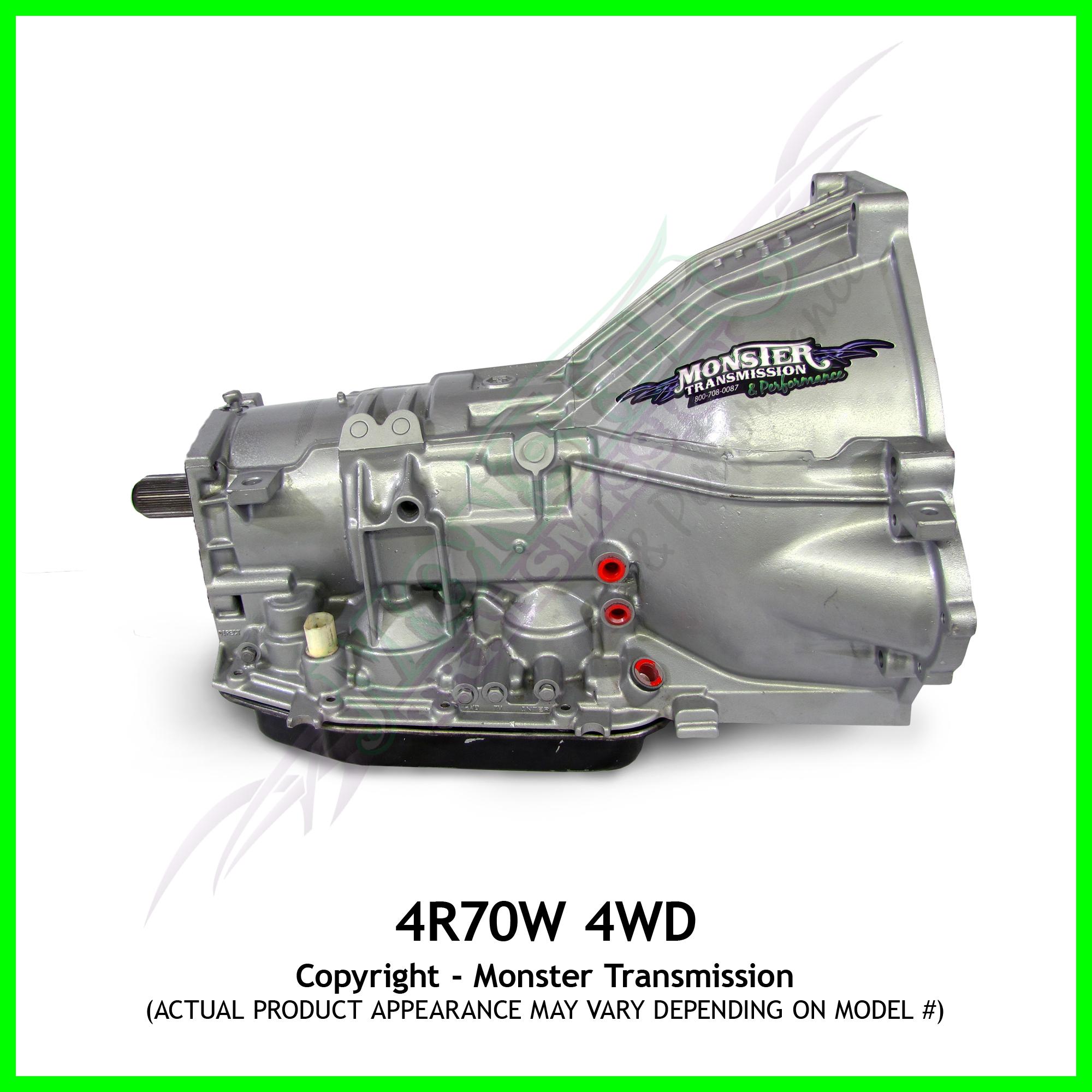 4R70W Super Duty Performance Transmission 4WD