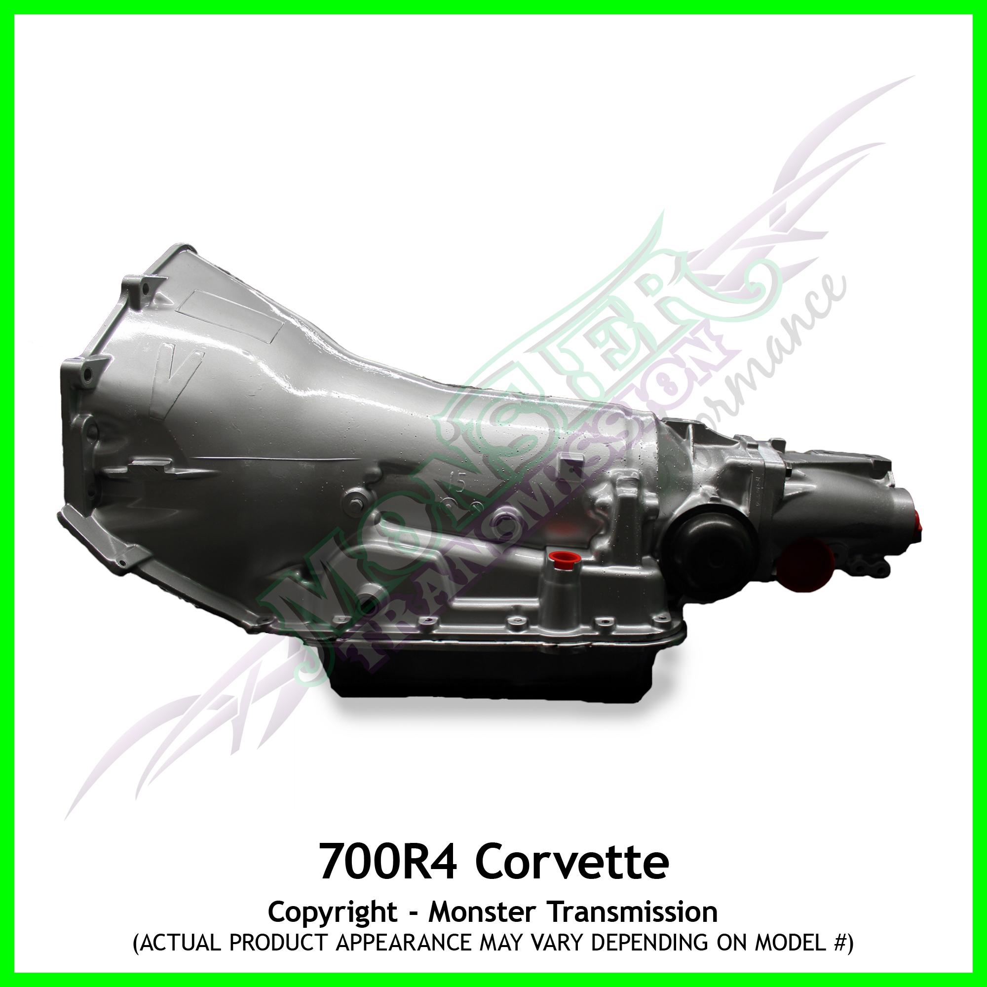 Corvette 700r4 Transmission Heavy Duty 2wd Gm Vacuum Diagram High Performance