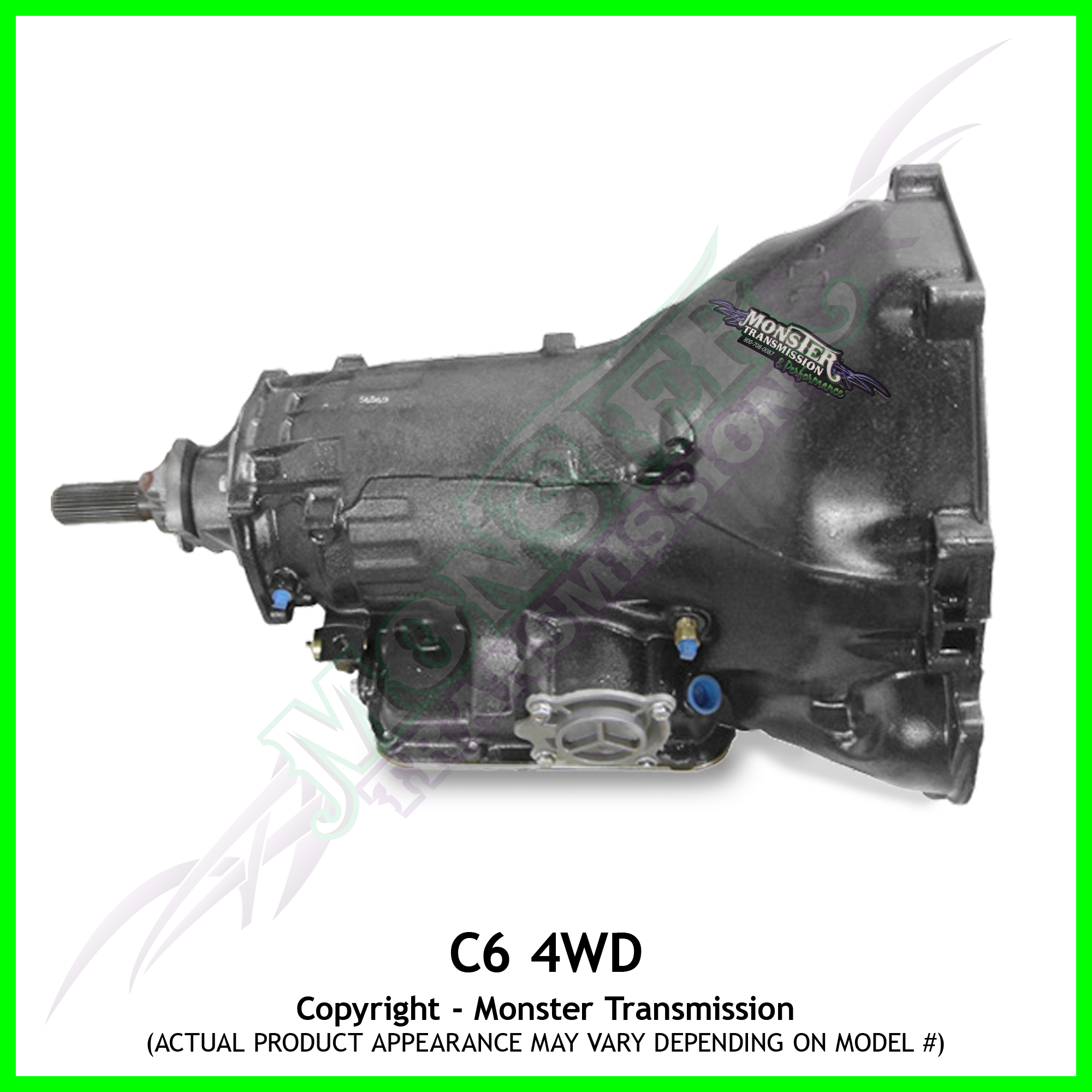 Build Custom Home Online C6 Transmission Remanufactured 4x4 Heavy Duty Performance