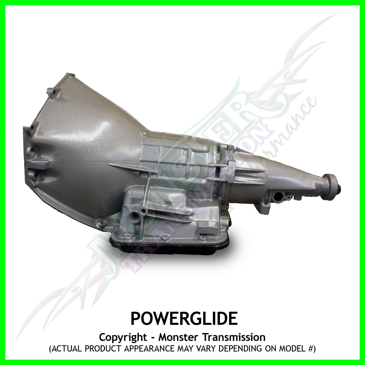 Powerglide Mega Monster Performance Transmission - Rated Up To 1100hp