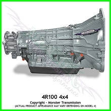 Heavy Duty 4R100 Transmission, Gas 4WD